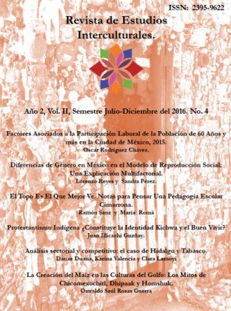 Ver Vol. 2 Núm. 4 (2016): Año 2, Vol. II, Semestre Julio - Diciembre del 2016. No. 4